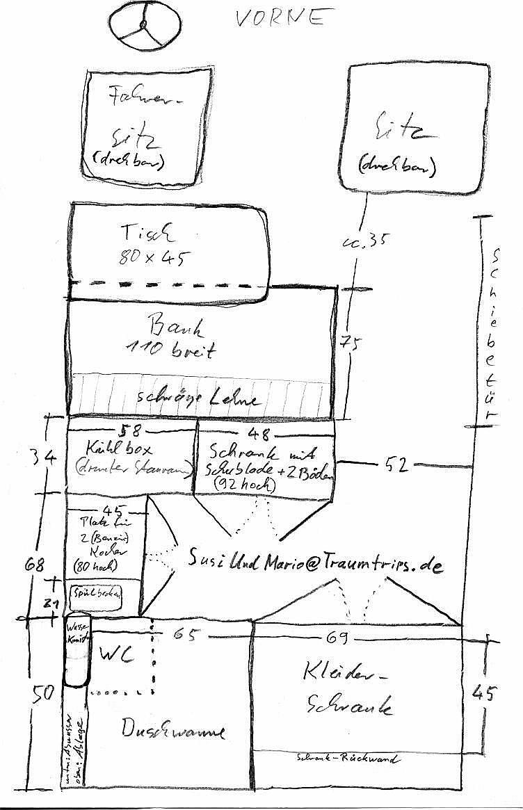 Wohnmobil Dusche Ausbauen : Der Ausbau unseres Wohnmobils